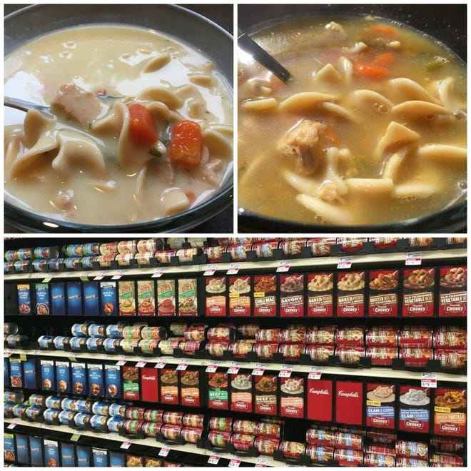 How do cans of chicken noodle soup at the grocery store stack up? In a taste test of 35 soups, a variety from Campbell's called Well Yes was our top pick.