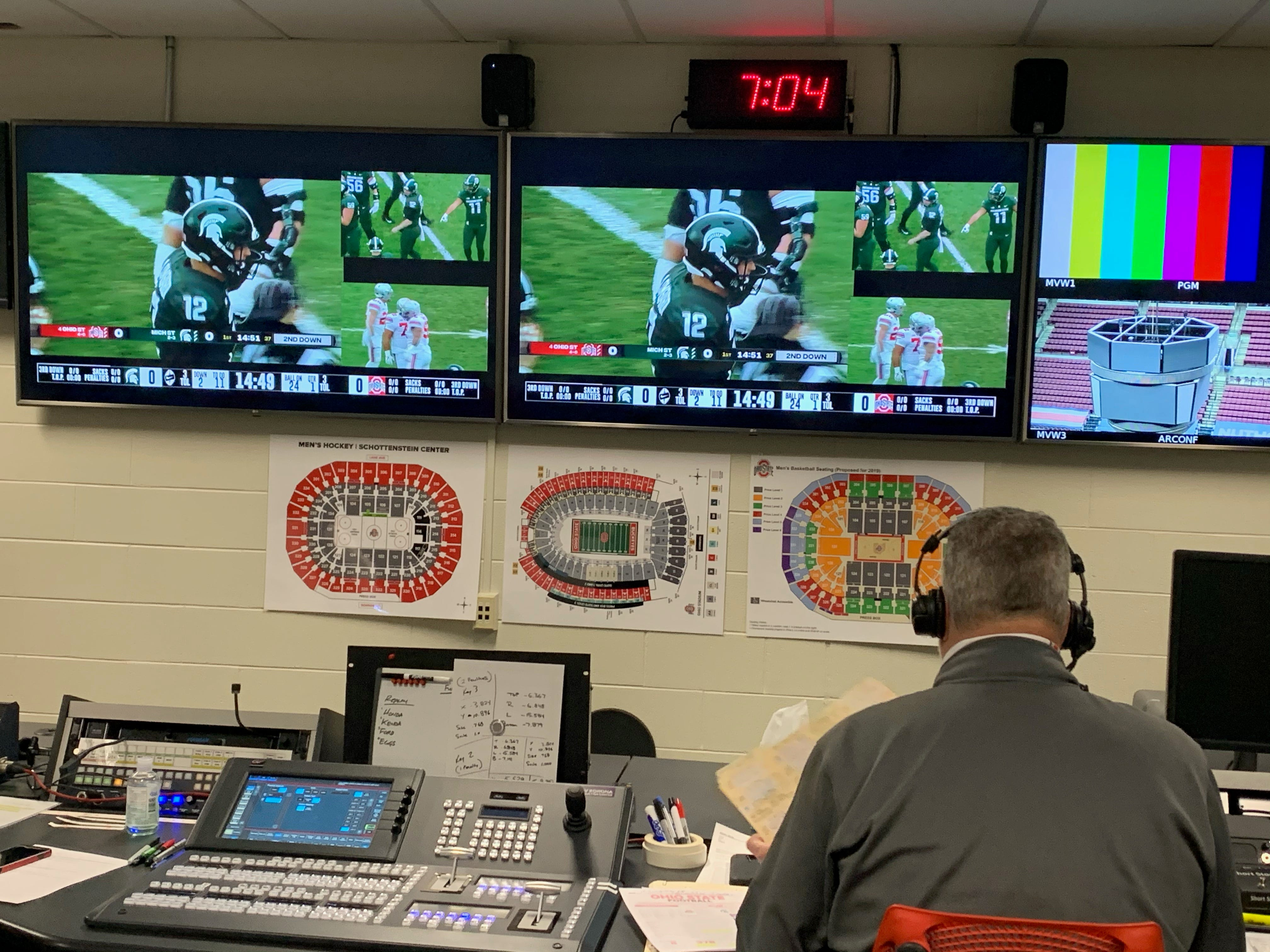 Ohio State football broadcasts go remote amid COVID-19 restrictions