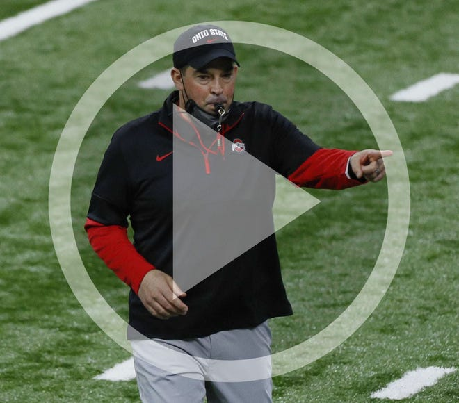 Ohio State head football coach Ryan Day.