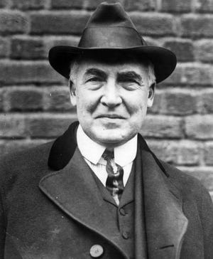 Warren G. Harding, the last U.S. president to hail from Ohio, was an outspoken supporter of civil rights for Black Americans.