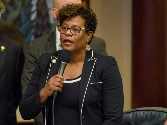 State Rep. Kimberly Daniels, a Jacksonville Democrat who lost her re-election in the August primary, is being sued by a former aide.
