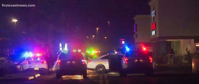 No injuries have been reported but gunfire erupted outside a concert venue — Sk8 City Fun Zone — in Jacksonville's Arlington area panicking hundreds of youths who fled through the parking lot.