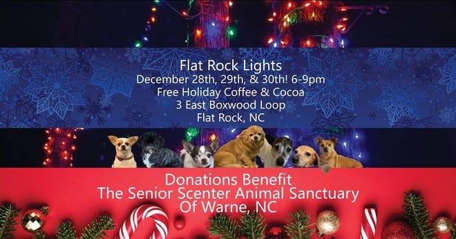 Flat Rock Lights continues through Dec. 30.