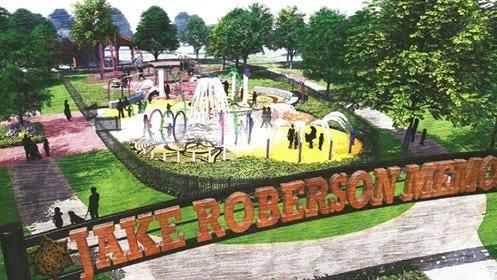 Jake Roberson's family donated $100,000 toward Massillon splash park