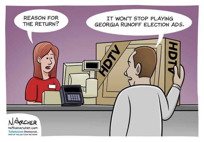 Today's editorial cartoon (Dec. 30, 2020)