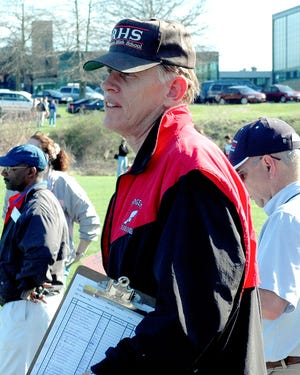 Bob Schoonover first became the girls track head coach in 2001.