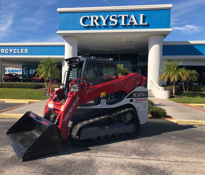 Crystal Tractor Supercenters in Ocala, Chiefland and Spring Hill are now part of the dealer network for the Takeuchi-US line of compact equipment.