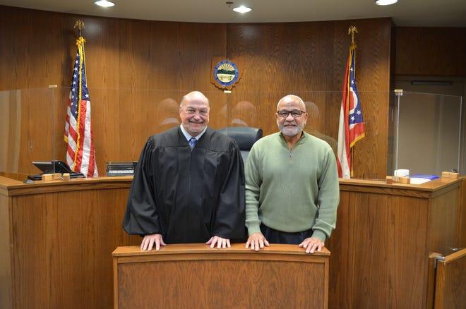 Judge Bob Berger and Stanley Boykin.