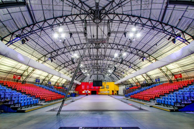 The Circus Arts Conservatory's Sailor Circus Arena has been made safer through COVID-19 mitigation measures, thanks to some recent grants.