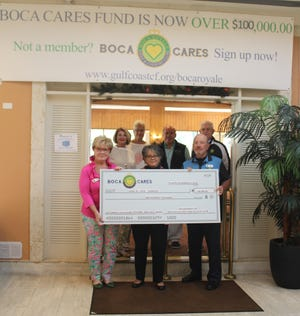 In its first two years, Boca Cares has made grants to more than 25 local charities in the Englewood/Venice area. The Boca Cares Board of Directors include Michele Petry, Jane Kopper Woodward, Bruce Vogt, Ron Watts, Denise Whitty, Andria Bilan and John Catterson.