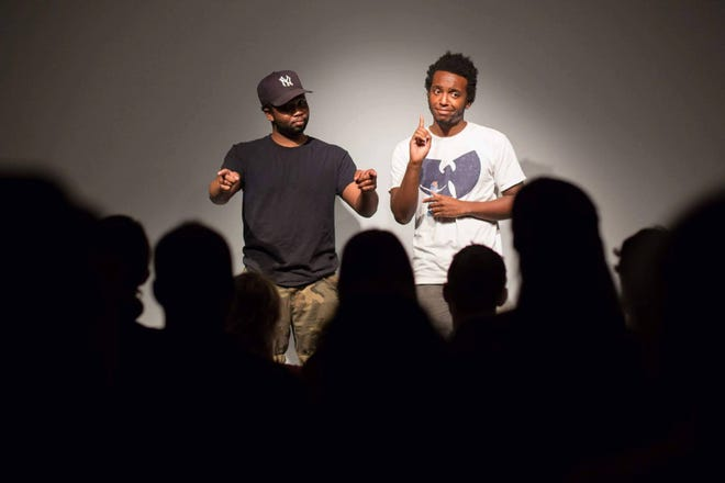 Vernon Moses, a.k.a. Deshawn Mason and Jon Antoine, will be at Front Porch Improv on Wednesday, Dec. 30 at 8 p.m.