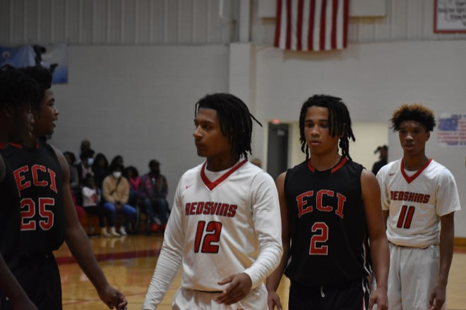Bryan County's leading scorer is Jamari Flannel (12).