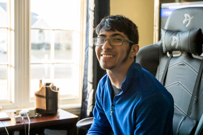 Although speech comes a little more slowly to Santos Ramirez, a Washburn Rural High School senior with cerebral palsy, it makes his words and statements that much more deliberate.