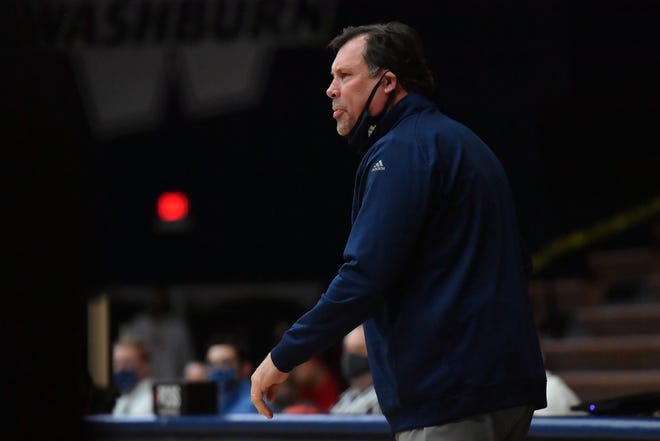 Washburn women's coach Ron McHenry and his Ichabod team will have to wait a little longer to get back to action after their Jan. 2 game at Northeastern State was postponed for COVID-19 protocols within the RiverHawks program.