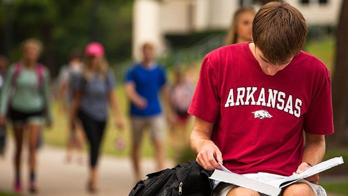 Spring break 2021 will be split up for University of Arkansas students