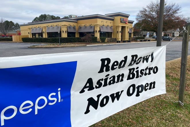 The Red Bowl restaurant, seen Dec. 28, 2020, is now open at the intersection of McFarland Blvd. and Academy Dr. in Tuscaloosa. [Staff Photo/Gary Cosby Jr.]