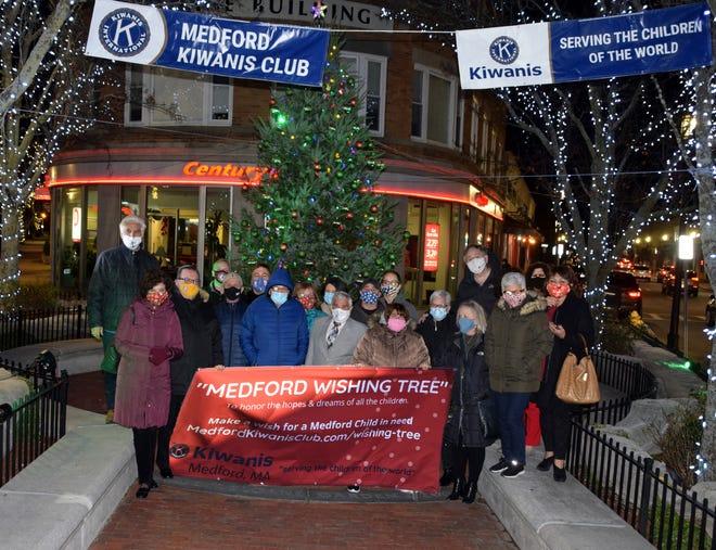 The Medford Kiwanis Club brings Santa, gifts and magic to Medford.