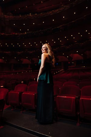 """Polish-American soprano Dorothy Gal is one of four all-star soloists to join the Space Coast Symphony Orchestra for """"Broadway to Hollywood,"""" the Symphony's first indoor concert since the pandemic."""