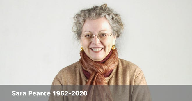 Sara Pearce, artist and former Enquirer features editor and reporter, died Dec. 27, 2020.