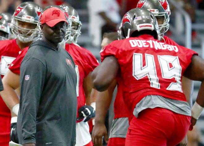 Todd Bowles, a former Dolphins interim head coach, is Tampa Bay's defensive coordinator charged with putting together a game plan for Patrick Mahomes.