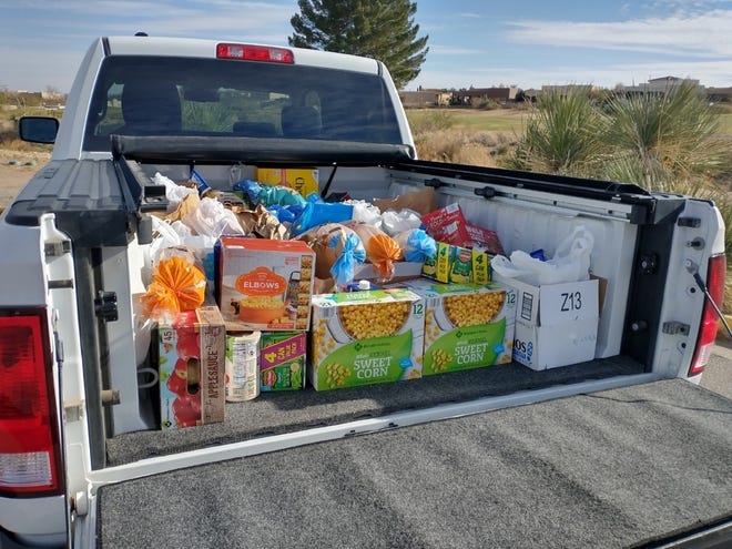 The Picacho Hills Country Club and The Picacho Hills Property Owners Association sponsored a food drive for the Roadrunner Food Bank from Dec. 11-19. Over a two-week period, four truckloads of nonperishable food were delivered to Roadrunner Food Bank, along with monetary contributions.