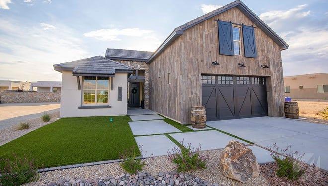 Arista's new model home, the Barndominium, is available at Metro Verde subdivision.