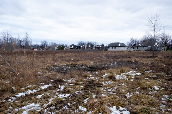 Corcat Properties plans to develop about 23 acres east of Woodland Estates into 45 to 50 lots on North Carney Drive in St. Clair.