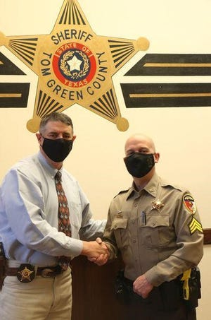 "William ""Bill"" Kirkland accepts his promotion to patrol sergeant."