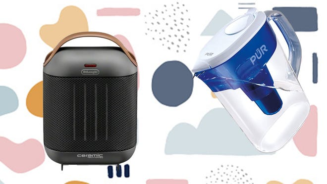 From water filters to space heaters, Amazon has it all.