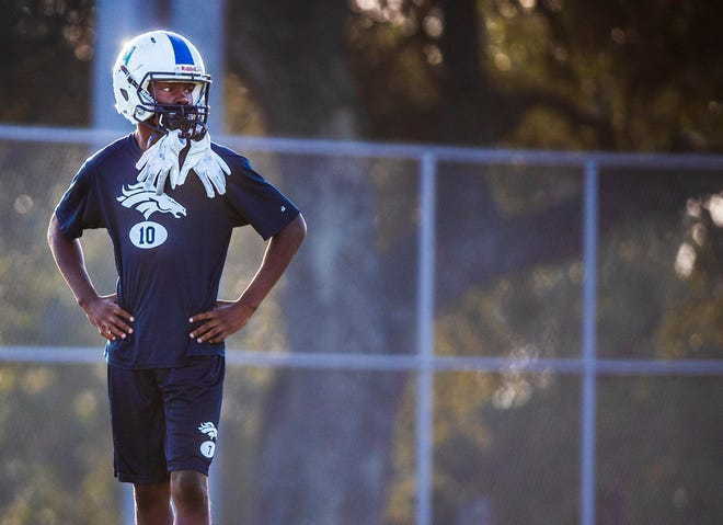 Jarvis Anderson, a wide receiver for McNeil High School, was the subject of a 2020 American-Statesman story for which videographer Ana Ramirez won a national top-10 award from the Associated Press Sports Editors. She was one of three Statesman staffers to win APSE awards.
