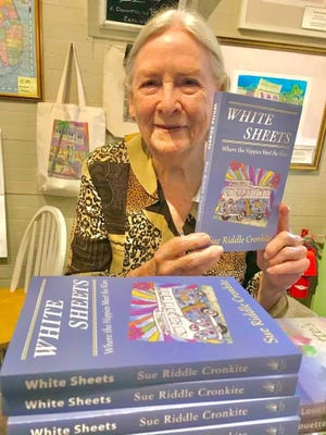 Sue Riddle Cronkite, with her new novel