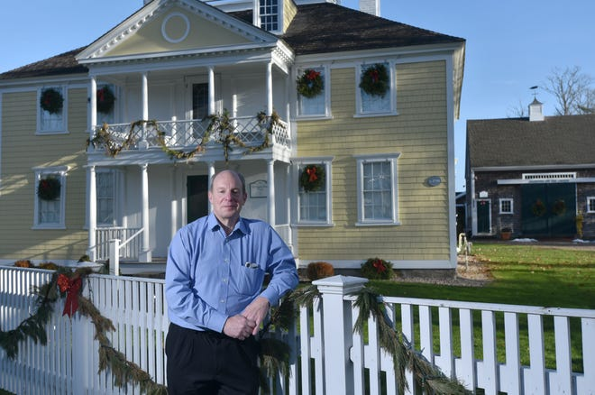 Mark Schmidt, executive director at the Falmouth Museums on the Green, is hoping that 2021 will be business as usual for the facility, which closed its doors to the public and offered programs online this year due to the COVID-19 pandemic.