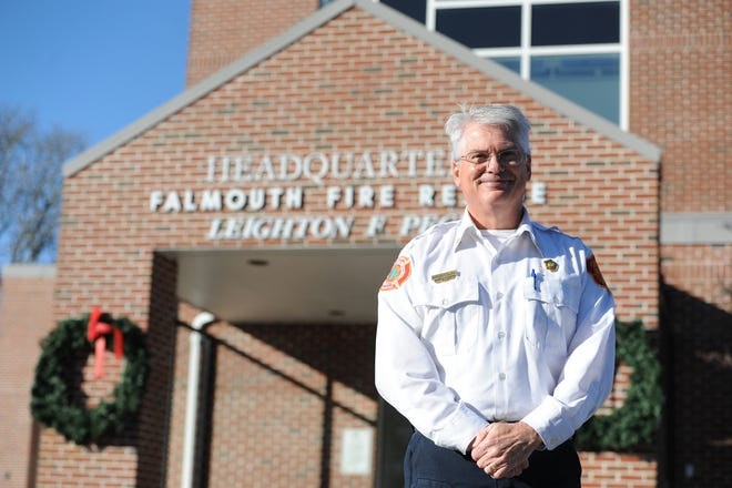Timothy Smith, the new fire chief in Falmouth, says among his goals are tofill vacant and new positionsin the department and improve the condition of the town's fire stations.
