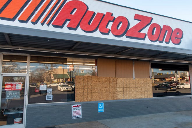 Someone shot at Auto Zone with a BB gun on Saturday, Dec. 26, police say.