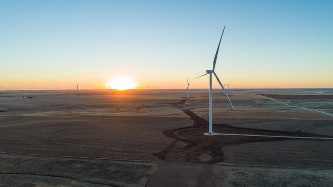 The 119 MW expansion to the Cimarron Wind Farm in Clark County is expected to benefit the surrounding communities by also providing $49 million in additional funds for lease payments to landowners and $18 million for schoolsand other public services.