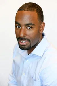 NASCAR's Vice President of Diversity and Inclusion Brandon Thompson.