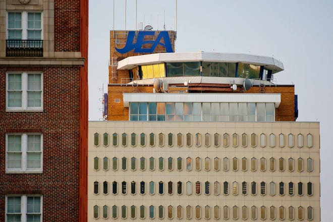 The JEA headquarters building in downtown Jacksonville.