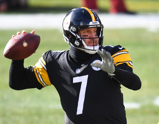 Steelers QB Ben Roethlisberger will get a rest this Sunday.