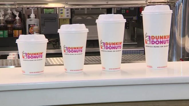 Dunkin' said it plans to begin selling hot and iced coffee with 20% more caffeine nationwide on Dec. 30. They're calling itExtra Charged Coffee.