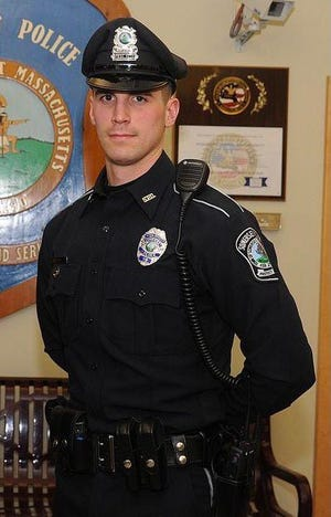 Somerset Police Officer Matt Lima purchased groceries to help two shoplifting suspects have Christmas dinner.