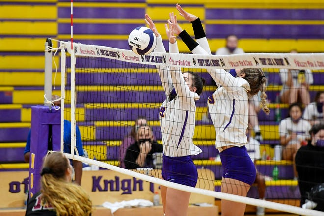 North Henderson takes on Asheville during a match earlier this season at North.
