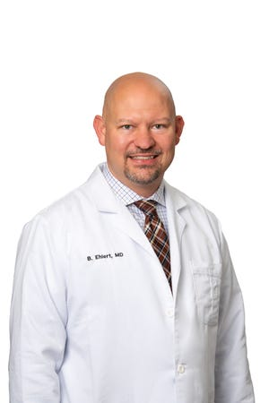 Dr. Bryan Ehlert, the a new vascular surgeon in Kinston.