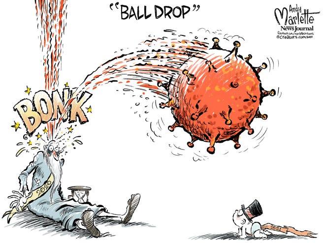 Today's editorial cartoon (Dec. 31, 2020)