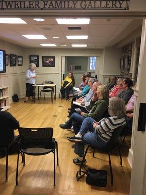 Seniors at the Friendly Community Center in Barrett Township attend a seminar pre-COVID days.