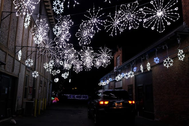 The Holiday Lights Spectacular at Roger Williams Park Zoo, in Providence, will run through Jan. 10.
