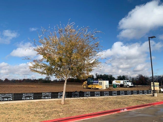 Dirt is moved to prepare this parcel of land on Washington Street for a new retail shopping center, which will include such national retailers as Hobby Lobby, TJ Maxx and Ulta Beauty.