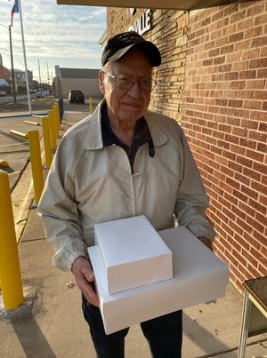 "Stephenville resident Darrell Graham brought some power rings and a poem to the Stephenville Police Department just before Christmas to show his appreciation to the law enforcement agency. ""Your kind words are much appreciated Darrell!"" reads a social media post from the department."