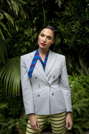 """Actress Gal Gadot is photographed while promoting her new film, """"Wonder Woman1984"""" in Los Angeles Dec. 7."""