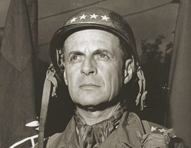 Gen. Matthew Bunker Ridgway was chief of staff for the Army and Supreme Allied Commander Europe. In World War II, he led the 82nd Airborne Division and the newly-formed XVIII Airborne Corps.