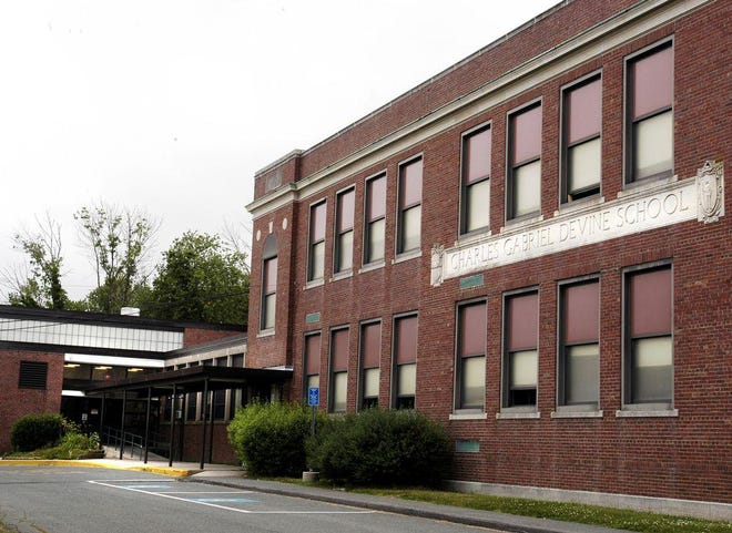 The old Devine school, shown in 2005, could be the site of the next Lyons Elementary School.